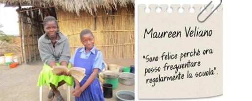 storie di adozioni a distanza: Maureen