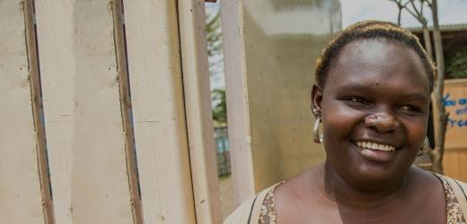storie di adozione a distanza: Amina