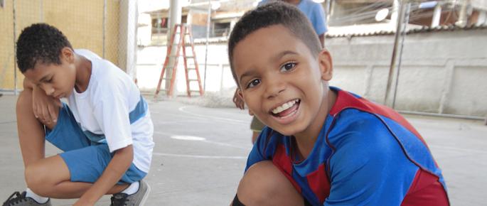 storie di adozione a distanza: Kainã