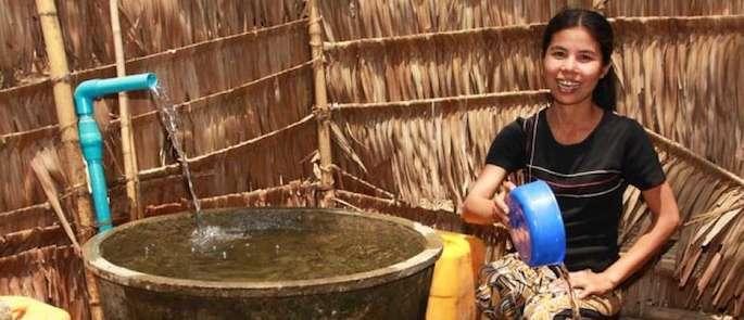 fonti di acqua potabile