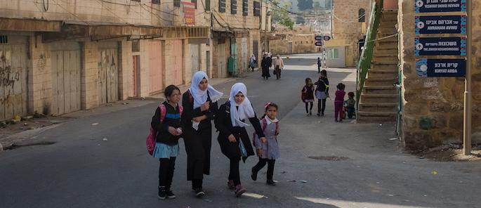 bambini palestinesi