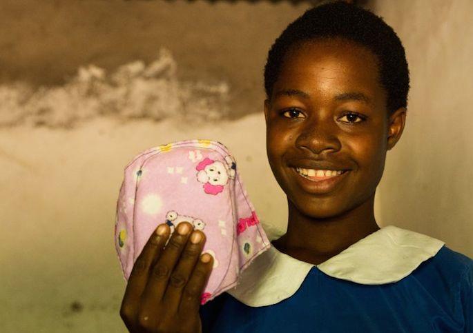 avere il ciclo mestruale e vivere nei Paesi poveri