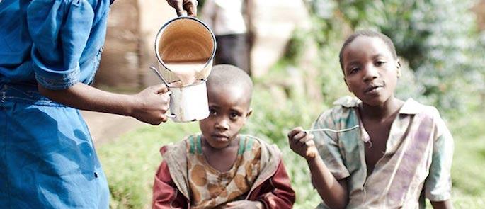 bambini malnutriti
