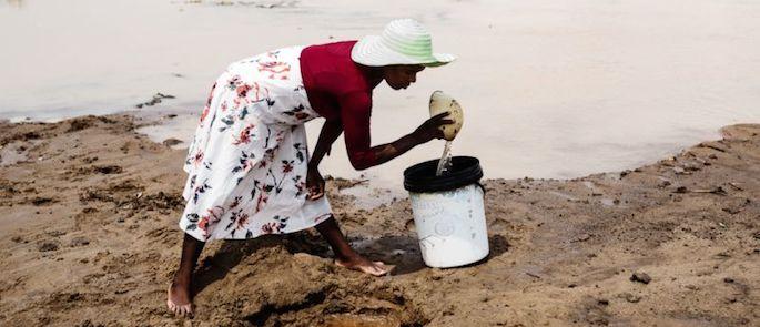 la povertà in Zimbabwe