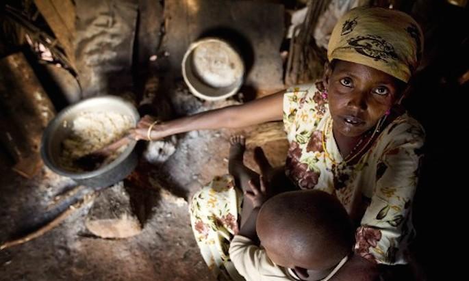 bambini e fame nel mondo