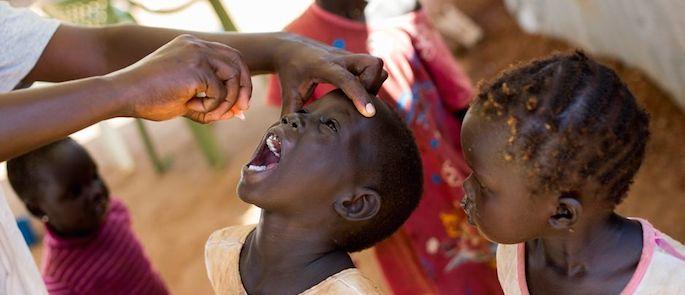 situazione poliomielite nel mondo