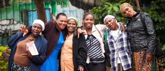 slum Kenya
