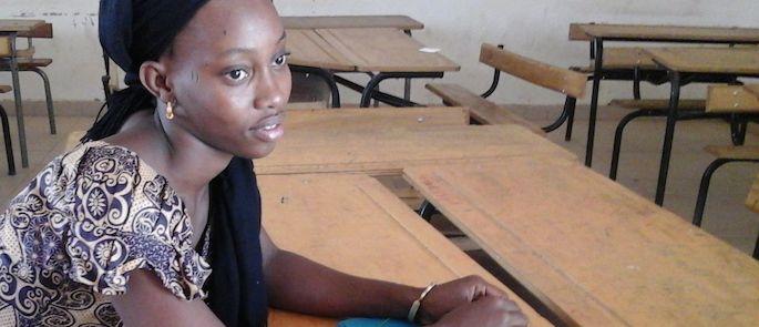 storie di adozione a distanza: Mariama Diallo