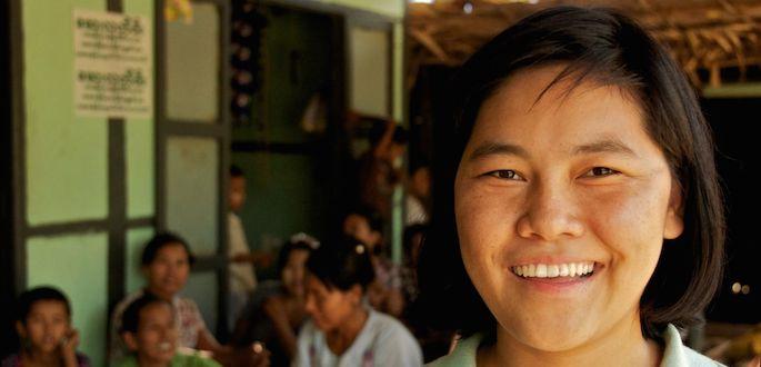 storie di adozione a distanza: Khin Soe