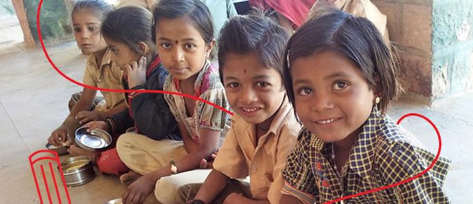storie di adozione a distanza: Anjali