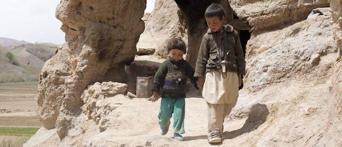 bambini nelle zone di guerra