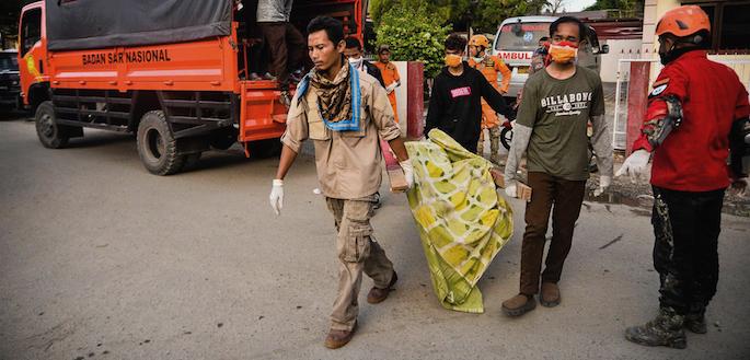 Indonesia situazione tsunami terremoto