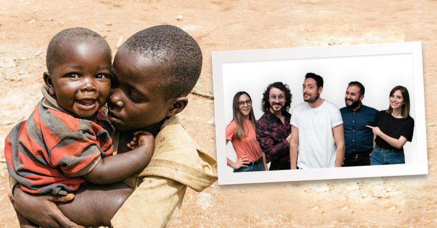 The Jackal nel loro nuovo video per ActionAid