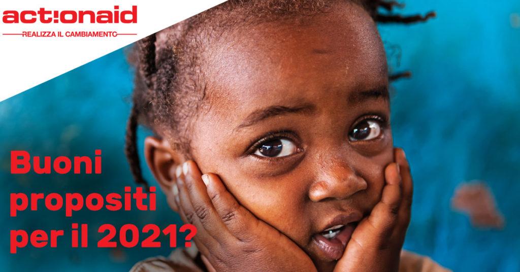 Buoni propositi per l'anno nuovo con ActionAid