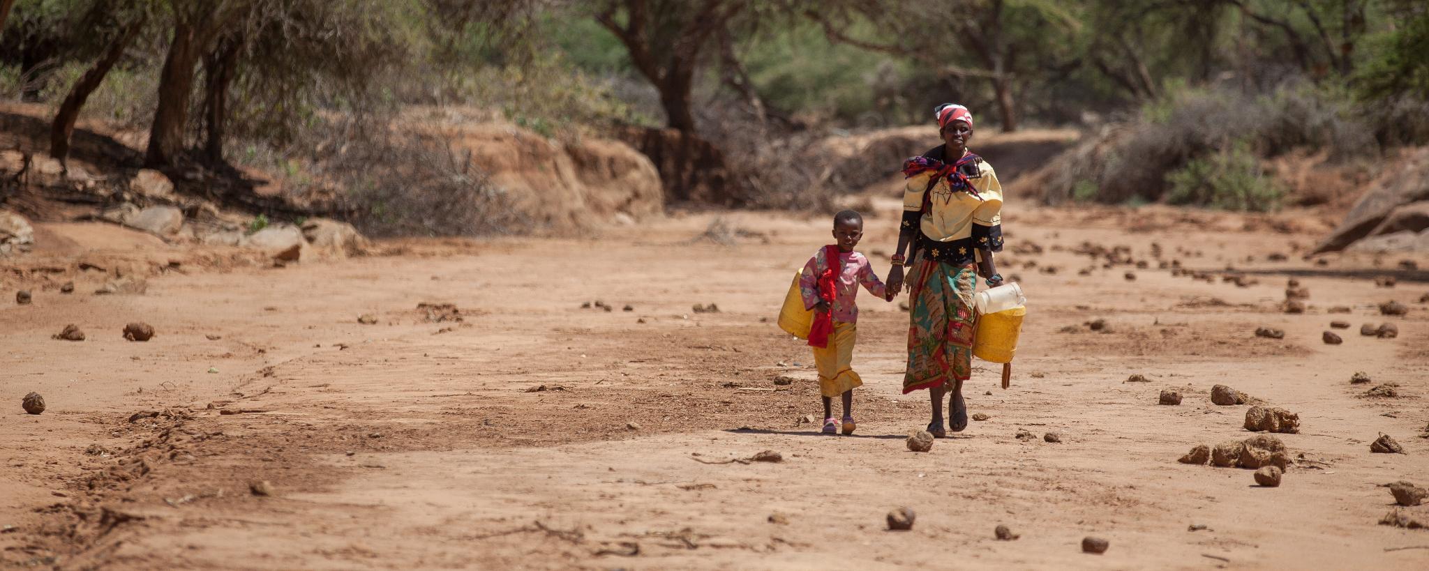Emergenza siccita in Kenya - contea di Isiolo