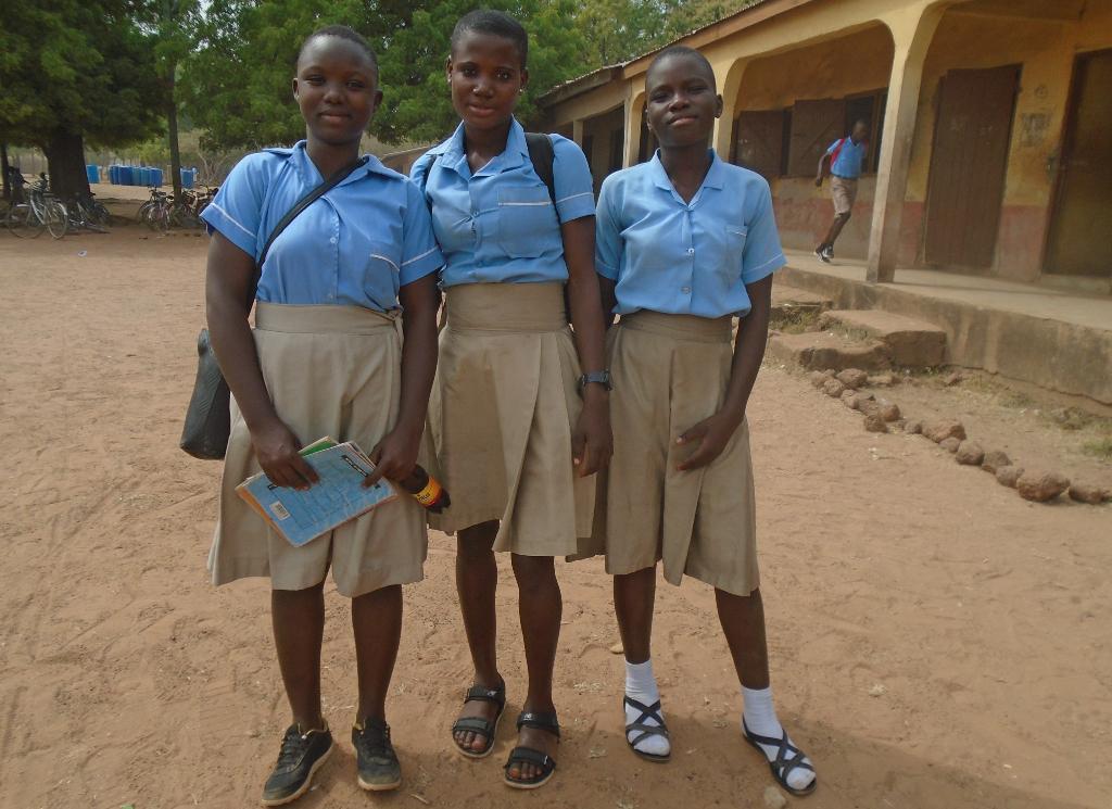 Ritorno a scuola di Afryea, una ragazza madre