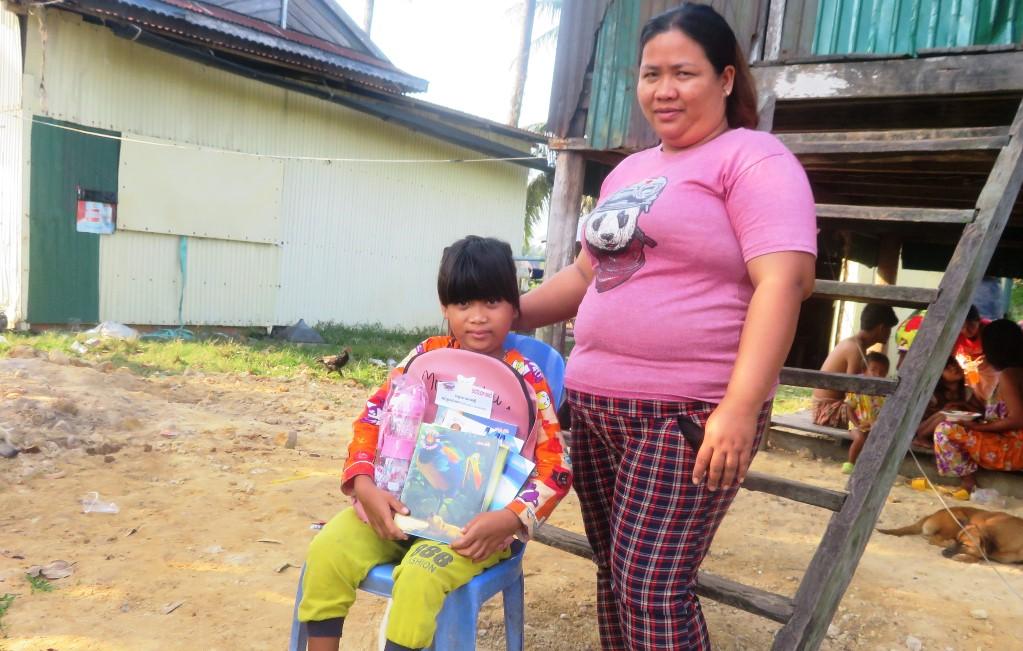 Theareum e la madre - Cambogia