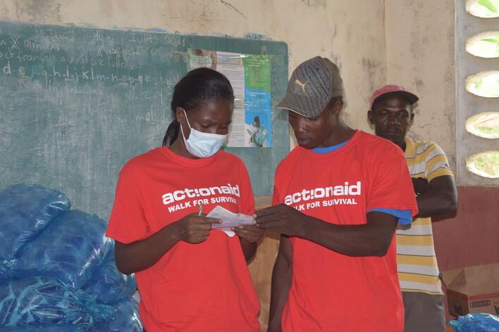 Terremoto ad Haiti e il sostegno di ActionAid